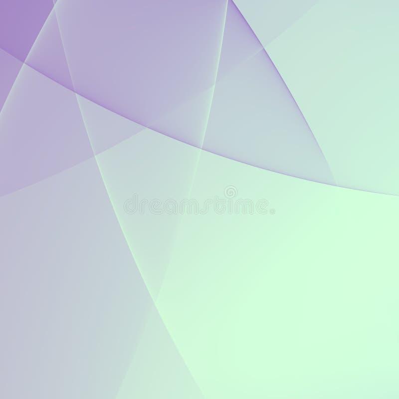 Prosty Abstrakcjonistyczny Biały prezentaci tło ilustracji