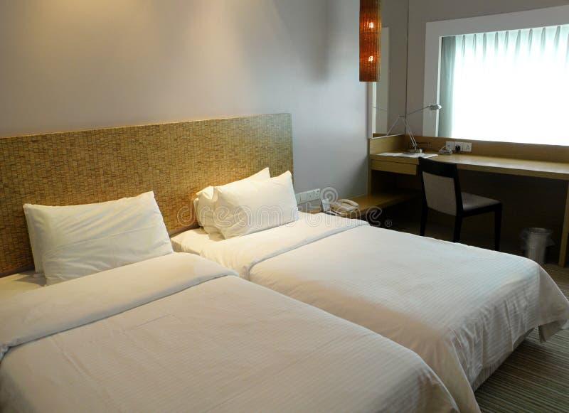 prosty budżeta pokój hotelowy zdjęcia royalty free