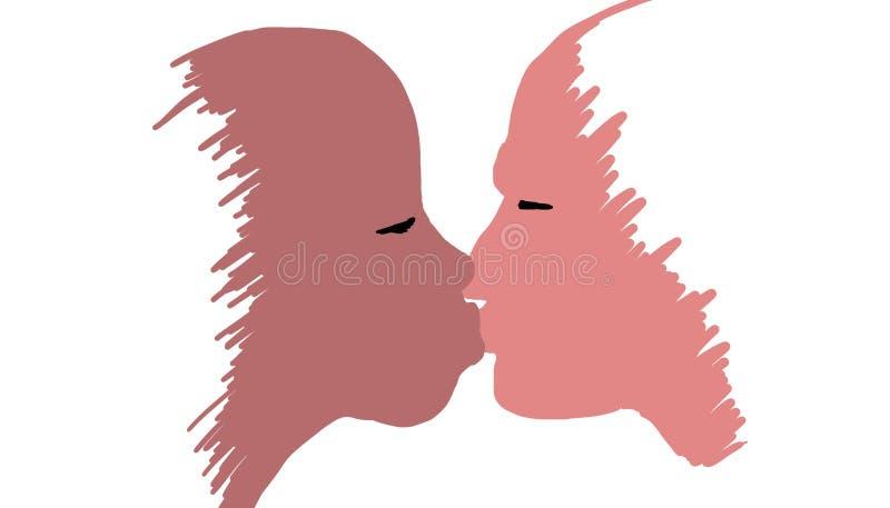 Prosty buziak royalty ilustracja