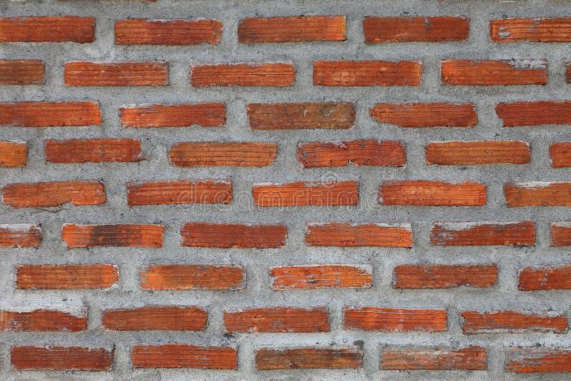 prosty cegły, betonowej ściany wzór dla projekta i zdjęcie royalty free