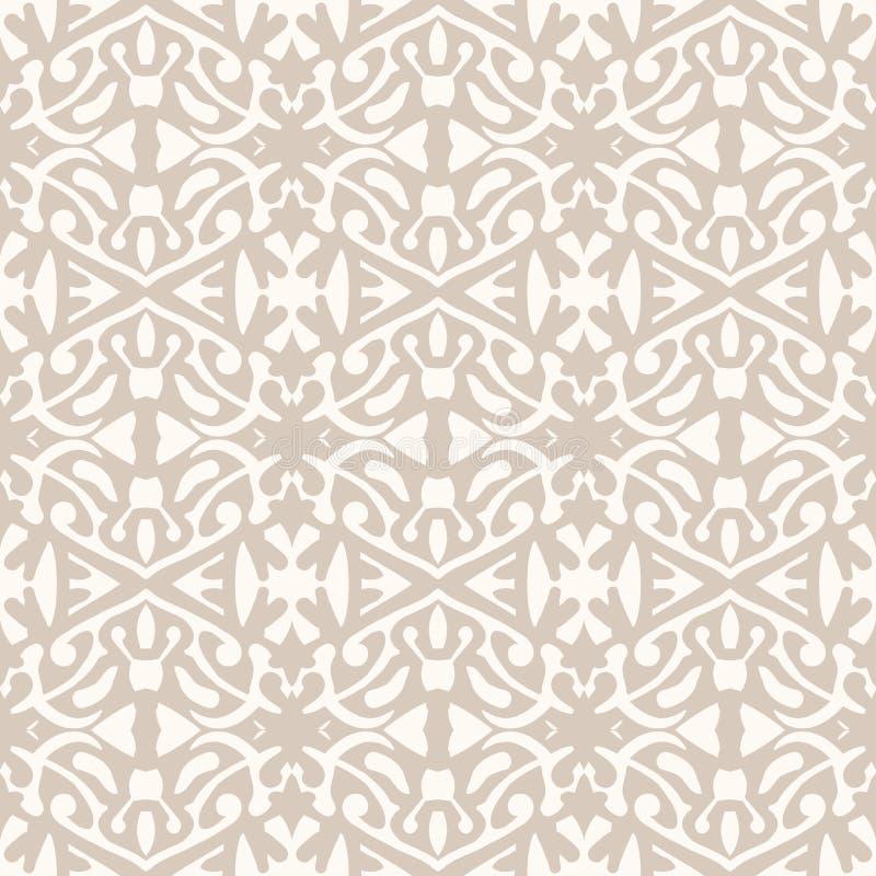 Prosty elegancki koronka wzór w art deco stylu. royalty ilustracja