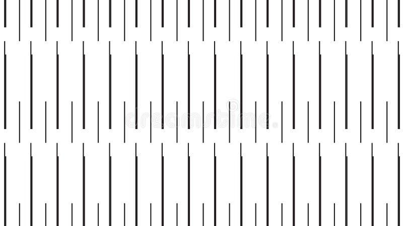 Prosty Nowożytny monochromatyczny igła wzór ilustracja wektor