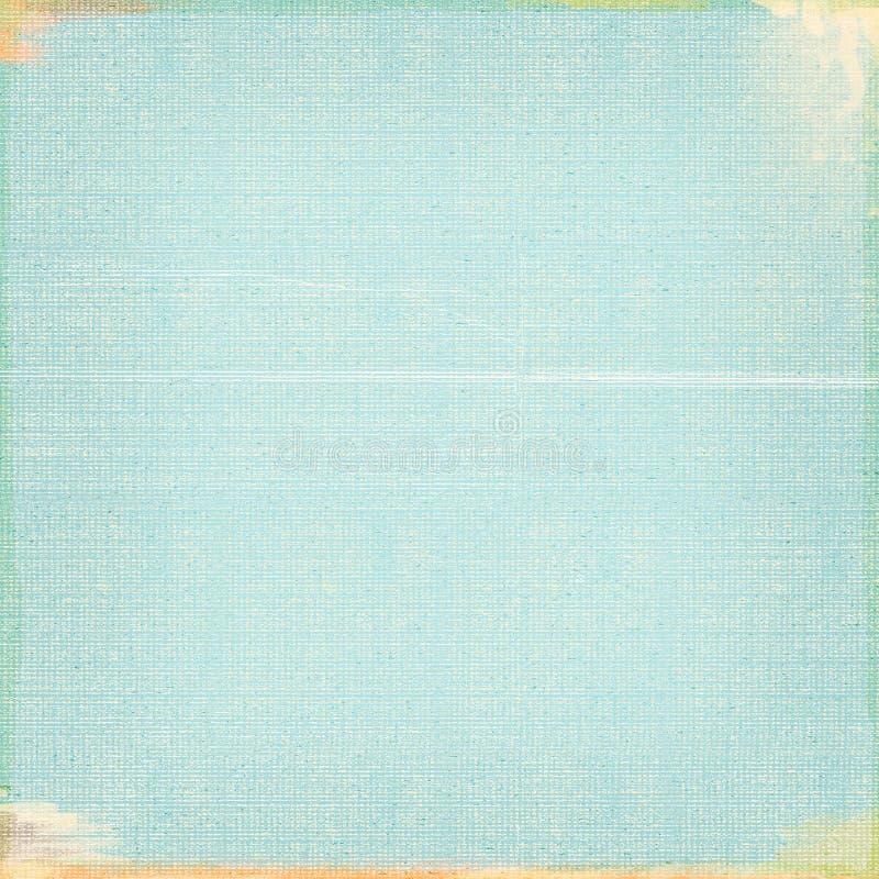 Prosty tło Będący ubranym Grunge spojrzenia Turkusowy błękit Textured royalty ilustracja