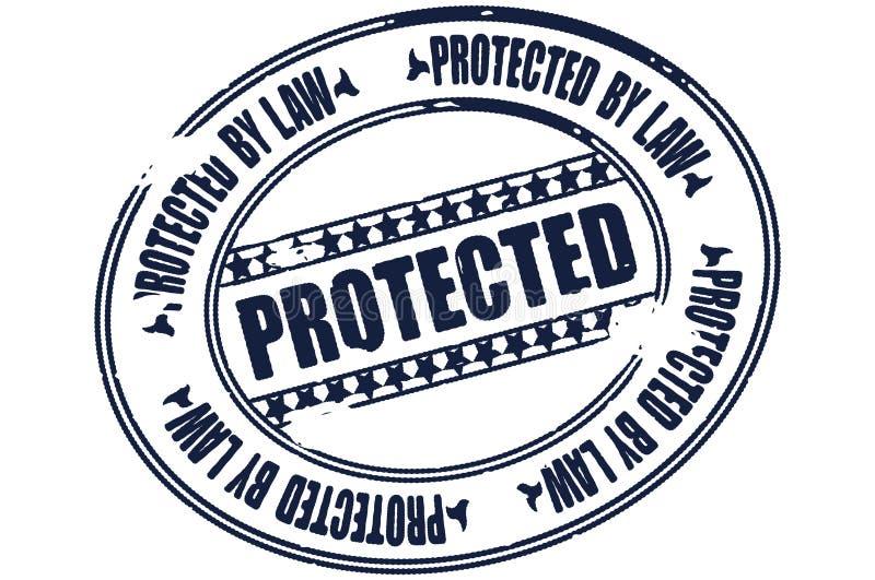 Protégé illustration de vecteur