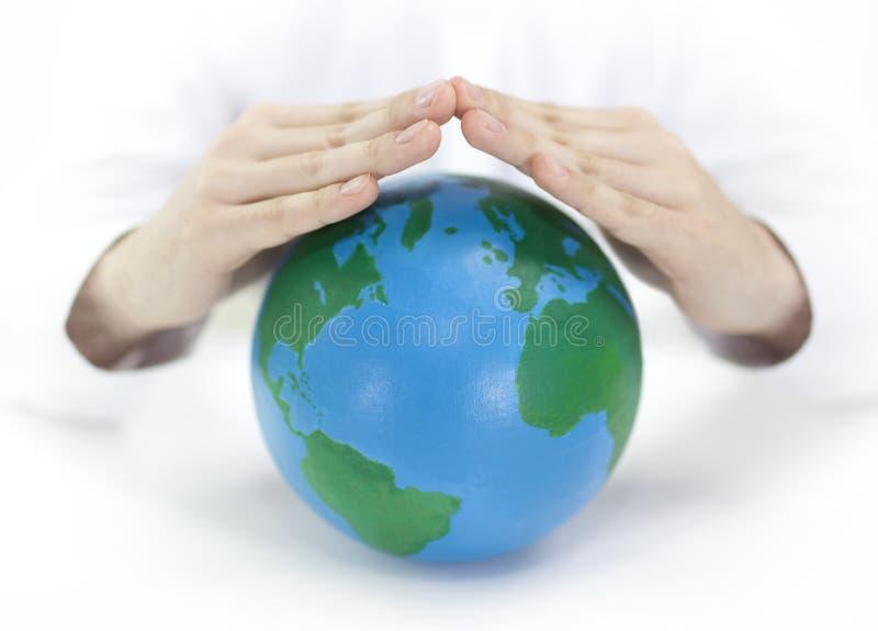 Protégez la terre photos libres de droits