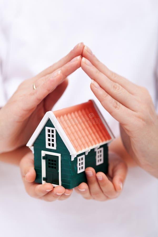 Protégez votre maison image stock