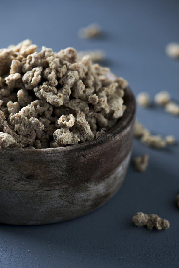 Protéine de soja texturisé image libre de droits