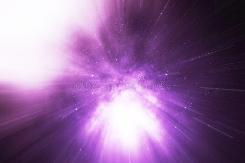 Protagonice la deformación o la deformación Hyperspace, abstracta del túnel de la velocidad en espacio A través del universo, rep libre illustration