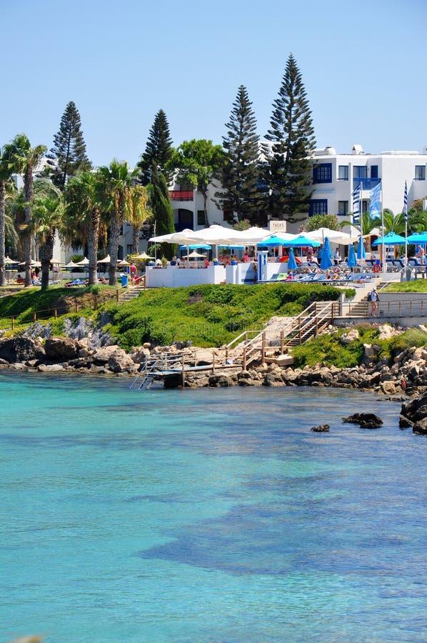 Protaras, Chipre imagem de stock royalty free
