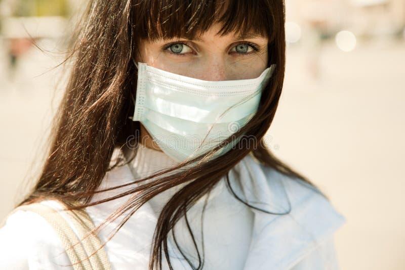 Proteção da gripe imagens de stock