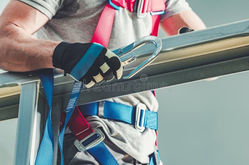 Proteção da indústria da construção civil foto de stock royalty free