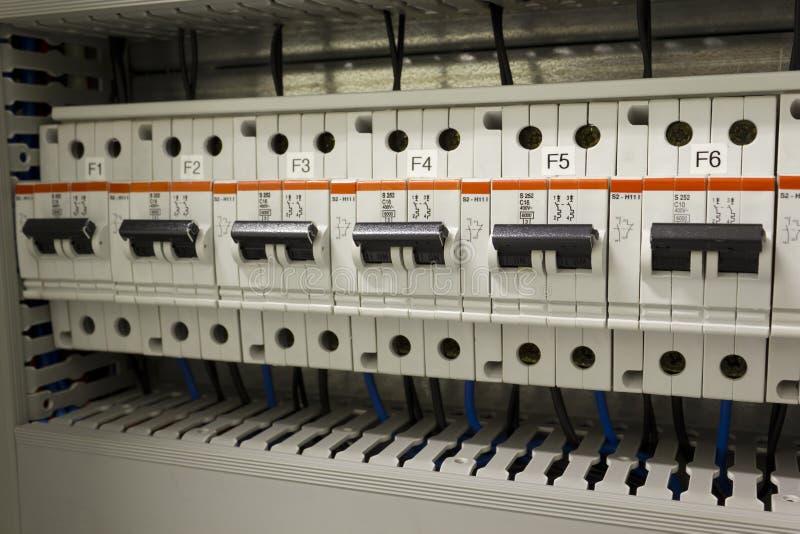 Proteção da instalação elétrica imagem de stock royalty free
