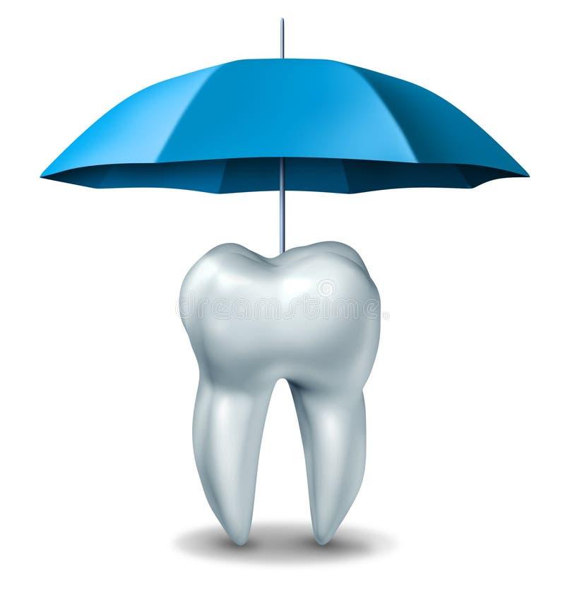 Proteção dental ilustração royalty free