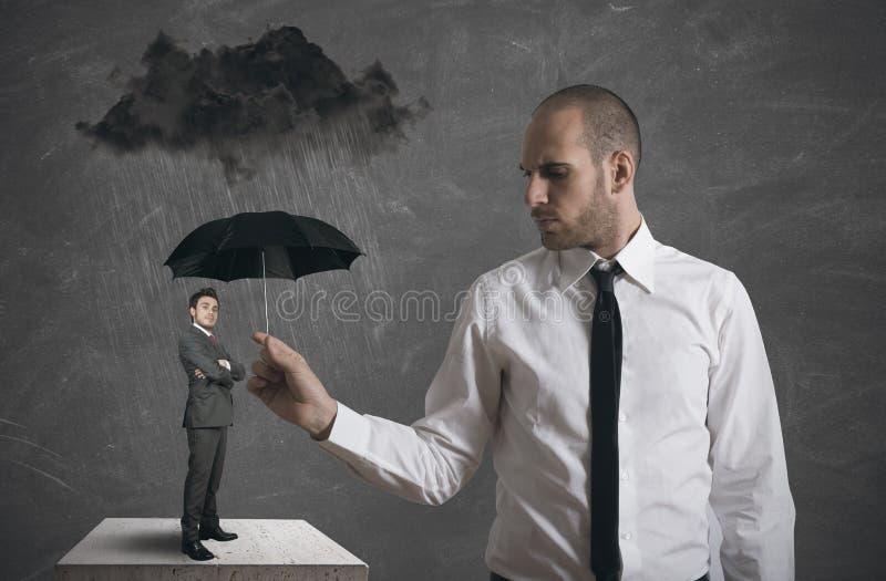Proteção do negócio imagem de stock