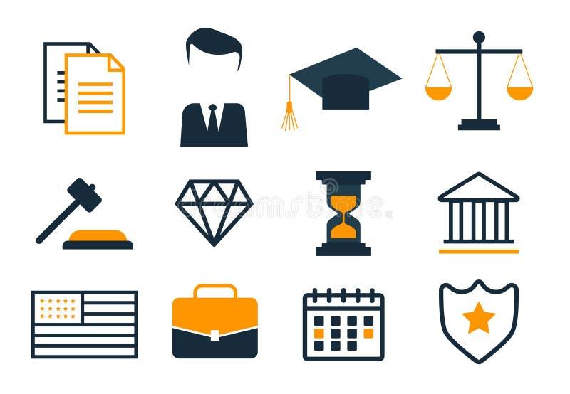 Proteção do negócio da conformidade e regulamento legais dos direitos reservados Copyright legal, proteção e regulamento ilustração do vetor
