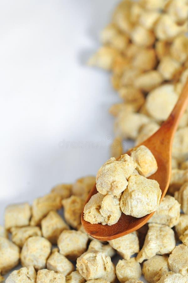 Proteína de soja imagens de stock royalty free