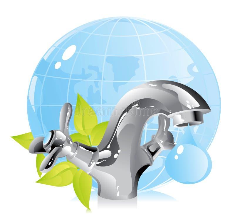 Protecção ambiental ilustração royalty free