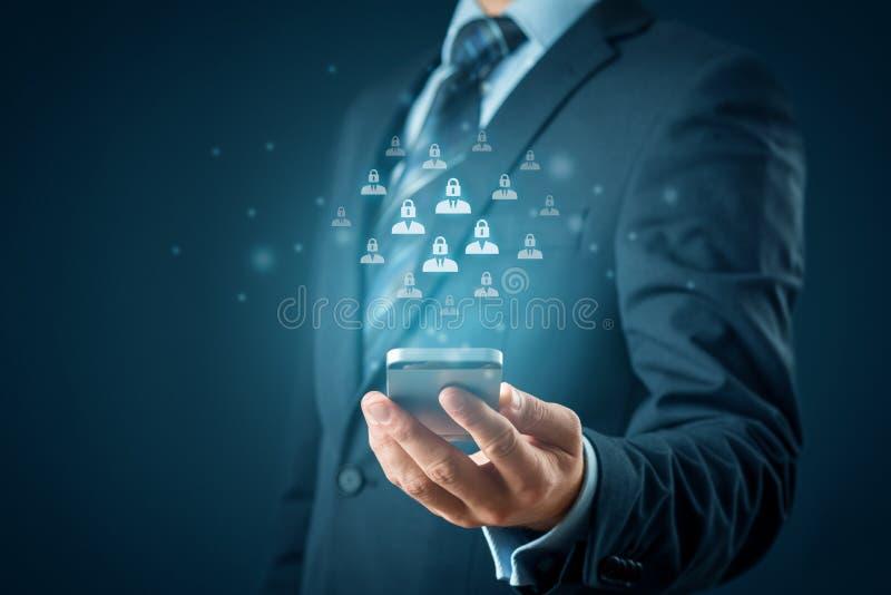 Protección de datos personal y GDPR fotos de archivo libres de regalías