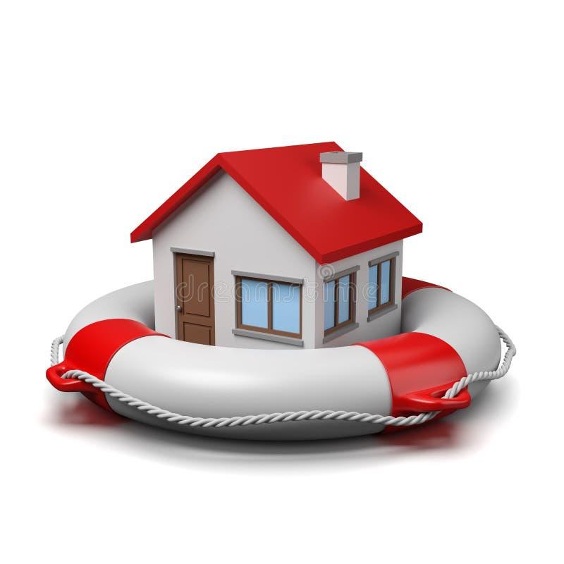Protección de la casa libre illustration