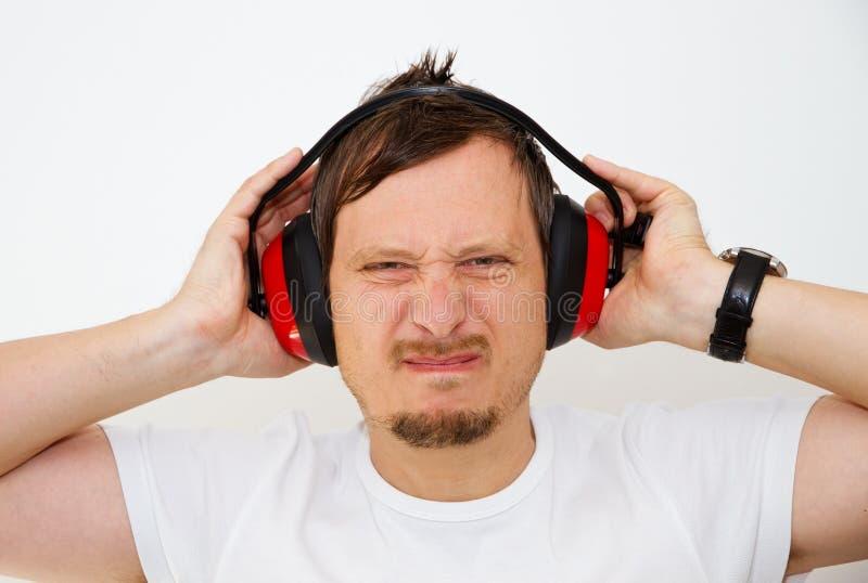 Protección de oído foto de archivo