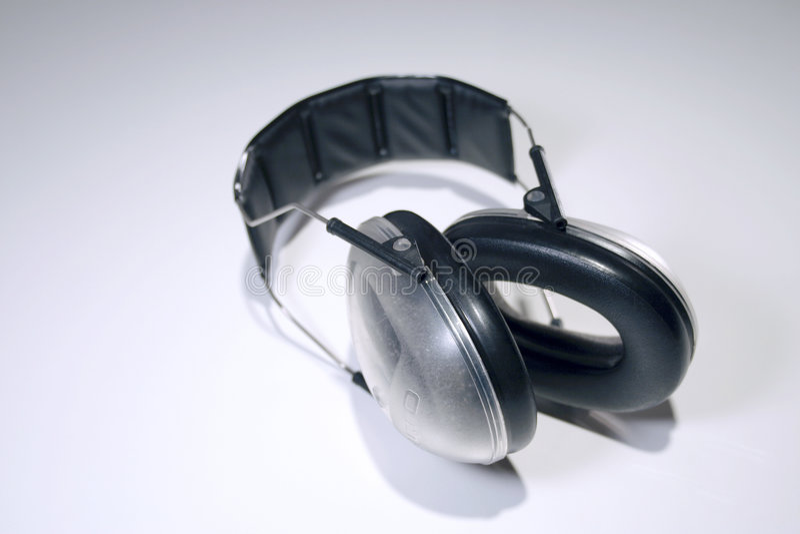Protección de oído imagen de archivo