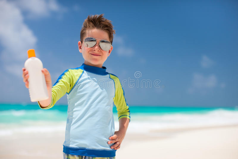 Protección de Sun imagenes de archivo