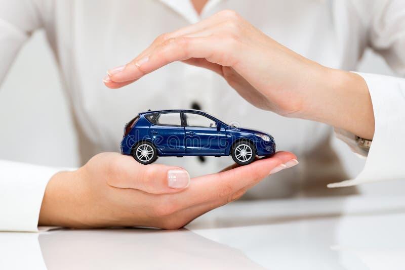 Protección del coche imagen de archivo libre de regalías