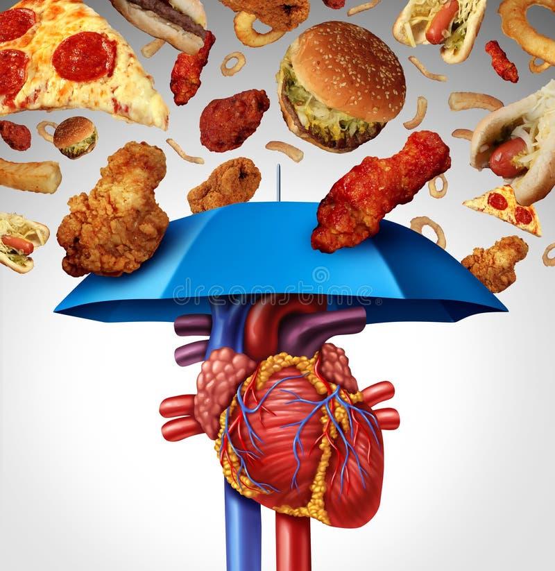 Protección del corazón ilustración del vector