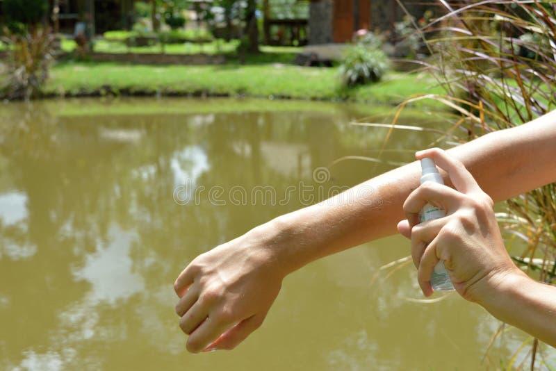 Protección del mosquito foto de archivo libre de regalías