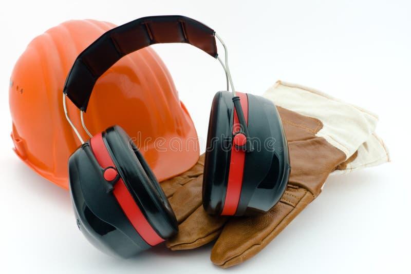 Protección sanitaria y de la seguridad en el workplace-1 fotografía de archivo