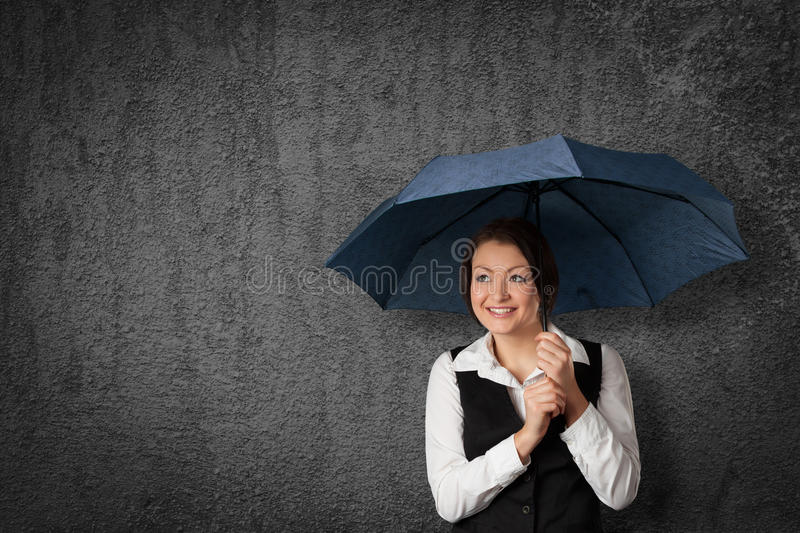 Protect against something stock image