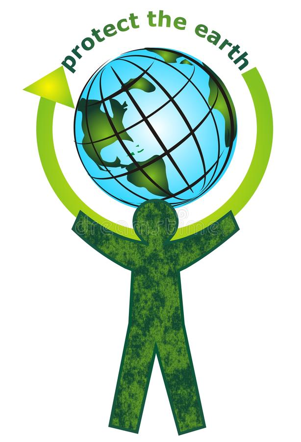 Download Protect the earth stock vector. Image of health, awareness - 14430711