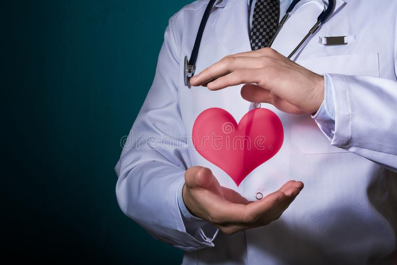 Protect the health of the cardiovascular system. stock photography