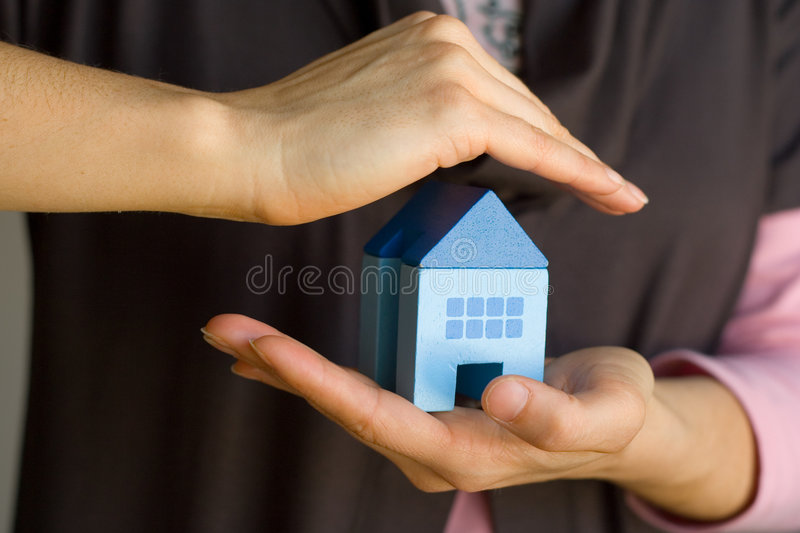 Protect House royalty free stock photography
