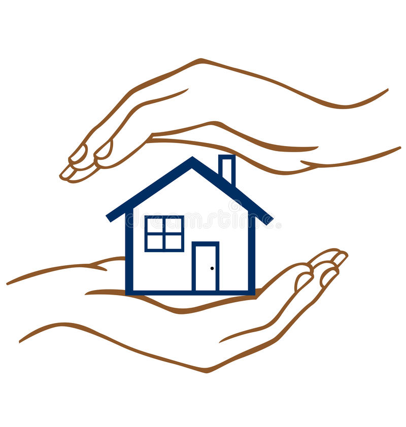Protect our Home vector illustration
