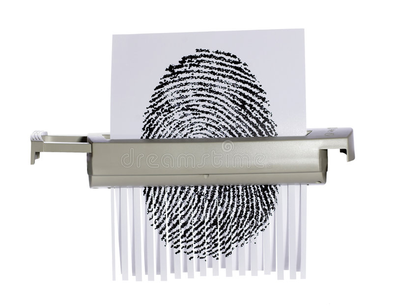 Download Protect Your Identity stock image. Image of finger, sensitive - 190335