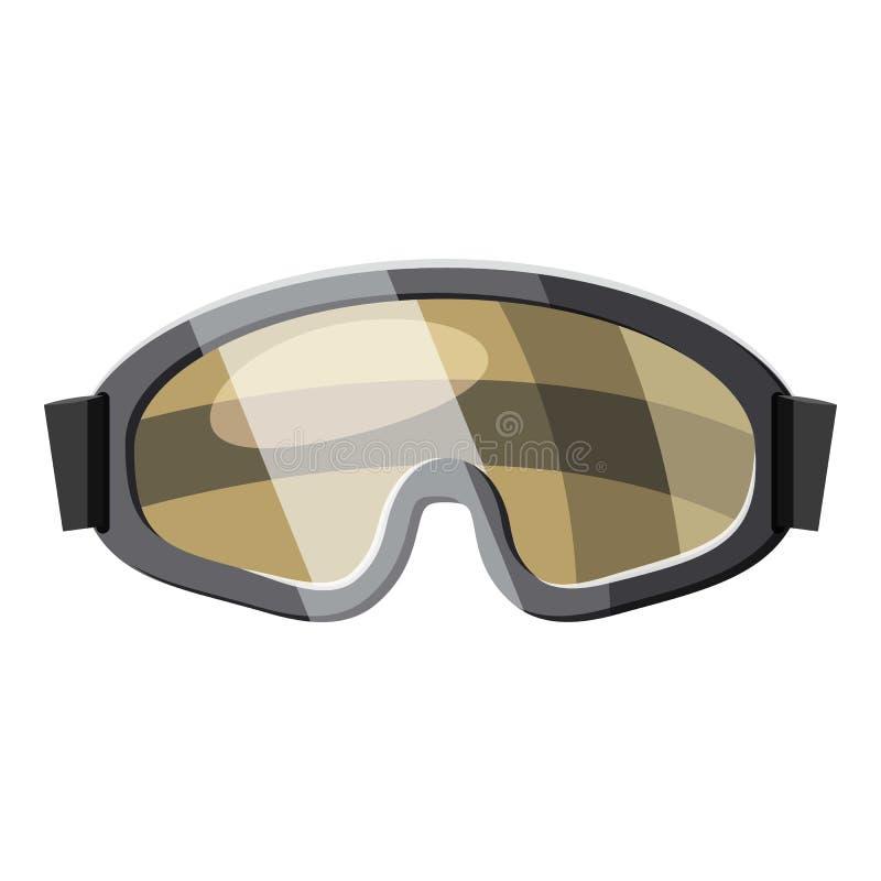 Protecteur de lunettes pour l'icône de paintball illustration libre de droits