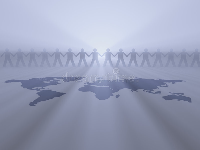 Download Protecting Earth Stock Image - Image: 3493041