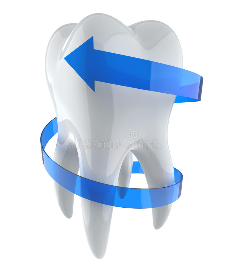 Download Protecting Tooth Royalty Free Stock Image - Image: 22501406