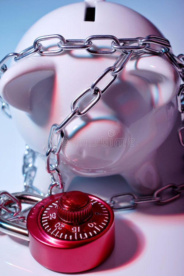 Download Protecting your money stock photo. Image of debt, banking - 2128488