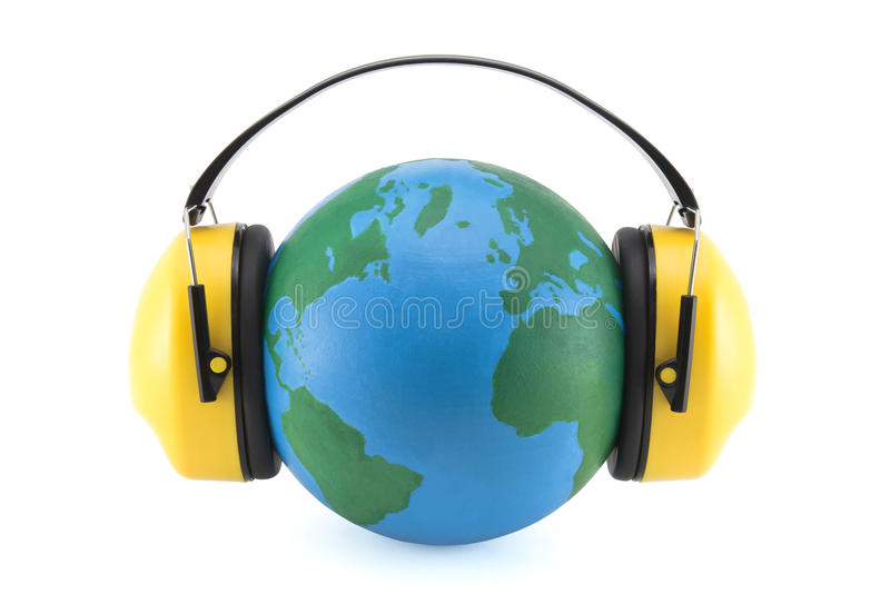 Download Protection against noise stock photo. Image of defenders - 14266160
