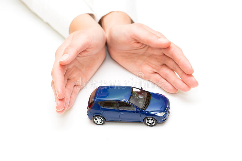 Download Protection of car stock photo. Image of care, palm, reliability - 34755252