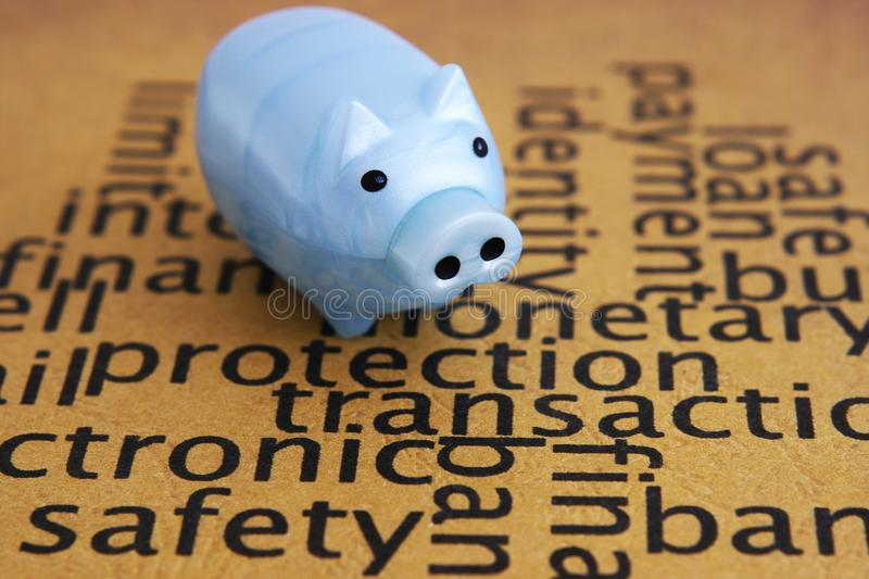 Download Protection concept stock photo. Image of burgle, piggybank - 22473328