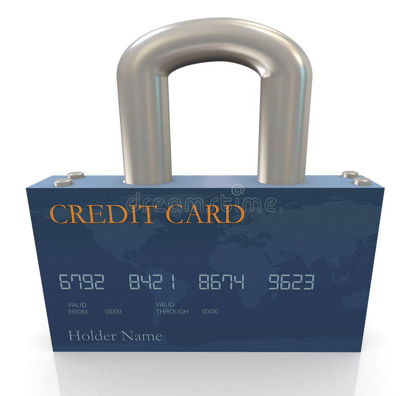 Protection Of Credit Card Stock Photos