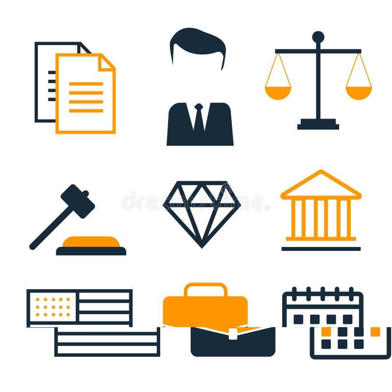 Protection d'affaire de conformité et règlement juridiques de copyright Copyright juridique, la protection et le règlement, règle illustration libre de droits