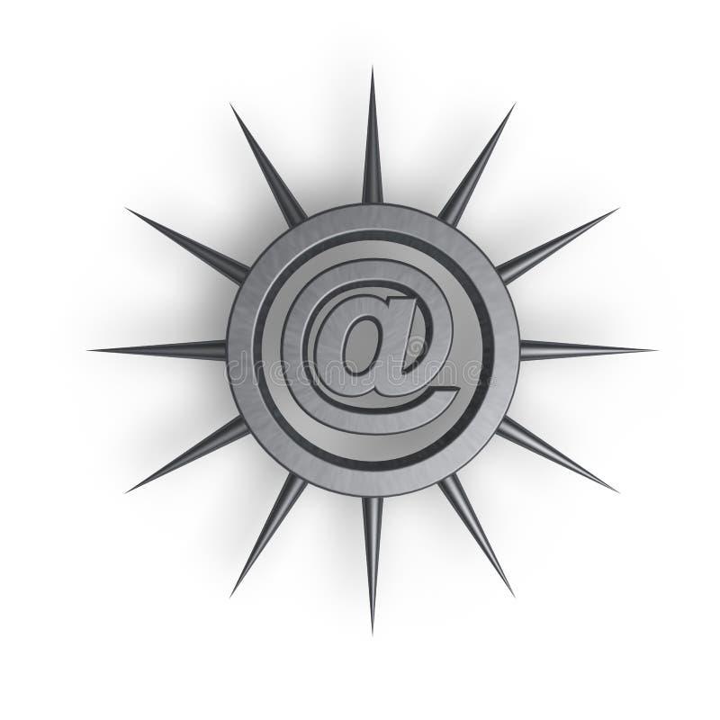 Protection d'email illustration libre de droits