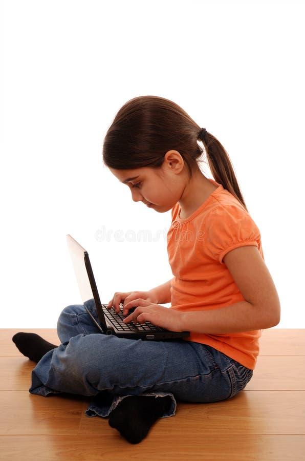 Protection d'enfant en ligne photos stock