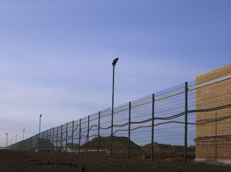 Protection d'objet de construction. photos stock