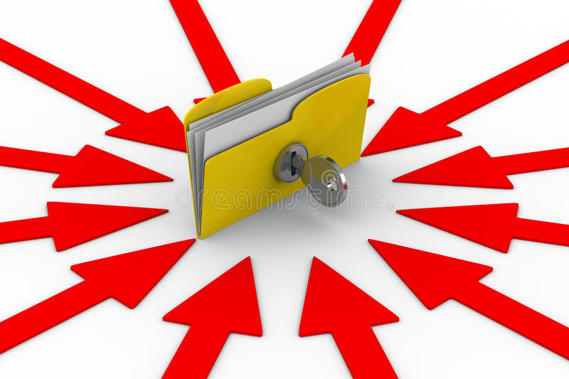 Download Protection Data Against Breaking Stock Illustration - Image: 16673646