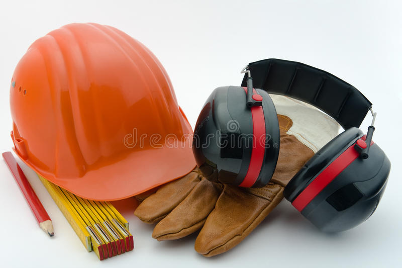 Protection de santés et sécurité au workplace-2 photographie stock